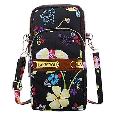 BOLUOYI Women Men Nylon Shoulder Bag Students O...