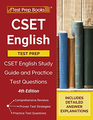 CSET English Test Prep: CSET English Study Guide and Practice Exam Questions [4th Edition]