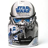 Star Wars The Legacy Collection 2008 Series Spacetrooper BD No. 32 3.75 Inch Scale by Hasbro (English Manual)