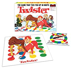 Contains vinyl twister mat Includes fully assembled spinner and instructions Fun party game for all ages