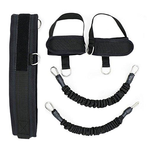 Bounce Trainer bandas de resistencia para piernas, dispositivo de entrenamiento de cuerda para entrenamiento, entrenamiento de fuerza y agilidad, correa de entrenamiento para el gimnasio en casa