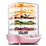HermosaUKnight Secador de Frutas Jze-R2 Secador de Alimentos Jze-R2 Secador de Aire de deshidratación de Alimentos para...