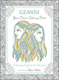 Gemini: Your Cosmic Coloring Book: 24 Astrological Designs for Your Zodiac Sign!