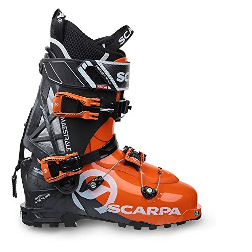 Scarpa M Maestrale Grau-Orange, Herren Touren-Skischuh, Größe EU 47.5 - Farbe Orange - Anthracite