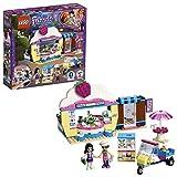LEGO Friends IlCupcakeCafédiOlivia, Mini-doll di Olivia ed Emma, Scooter Giocattolo e Accessori, Set da Gioco per Bambini, 41366