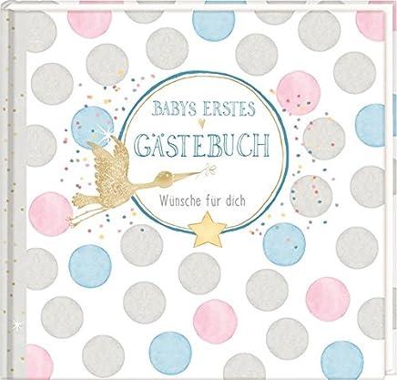 Gästebuch Baby Shower Babys erstes Gästebuch Wünsche für dich by Anne Mußenbrock