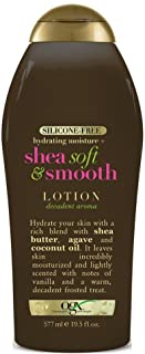 Ogx Body Lotion Shea Soft & Smooth 19.5 Ounce (577ml) (2 Pack)