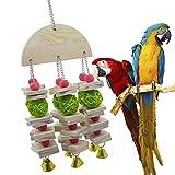 Grandi, Medie E Piccole Parrot Bite Giocattolo, Rattan Sfera Beads Colour Building Block Bite String, Natale Decoration Day