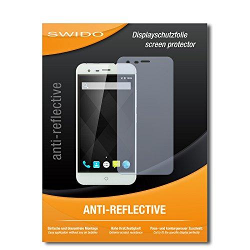 SWIDO Bildschirmschutz für Ulefone Paris Arc HD [4 Stück] Anti-Reflex MATT Entspiegelnd, Hoher Festigkeitgrad, Schutz vor Kratzer/Glasfolie, Schutzfolie, Bildschirmschutzfolie, Panzerglas Folie