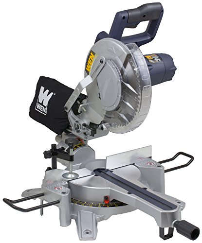 WEN 70716 10-Inch Sliding Compound Miter Saw for Trim Work