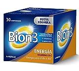 Bion 3 Energa Complemento Alimenticio - 30 Tabletas
