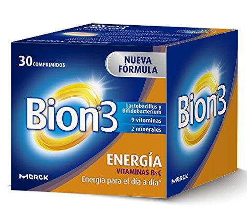 Bion 3 Energía Complemento Alimenticio - 30 Tabletas