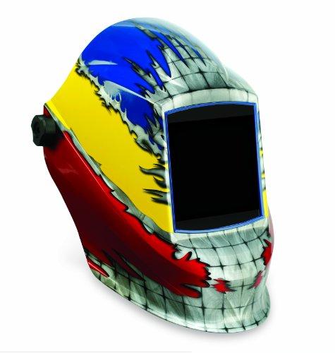 Sellstrom 41200FC Face Off Graphic Trident Welding Helmet - Auto Darkening Filter Sold Seperately