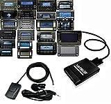 Yatour YTM06-VW12-BT+KEY3 Adaptateur de musique digitale USB, SD AUX Bluetooth kit...