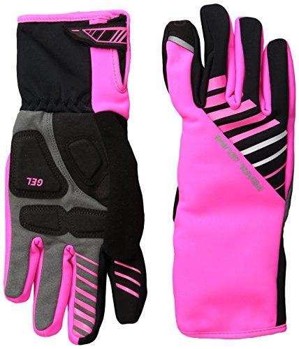 PEARL IZUMI W Elite Softshell Gel Glove Guantes shofshell Mujer, Rosa, XL