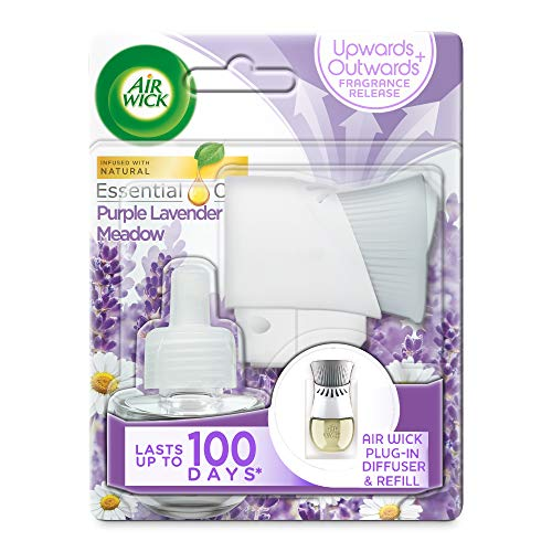 AirWick Essential Oils Air Freshener, Electrical Plug in Kit Gadget and...