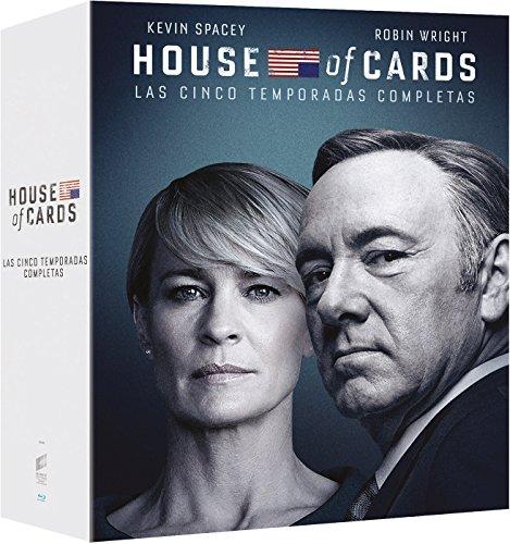 House Of Cards (Tv) - Temporadas 1-5 [Blu-ray]
