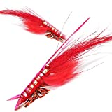 YZD Realistic Shrimp Fly Wet (#7\/0 06 Red)