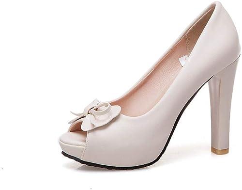Gericht Schuhe Open Toe High Heel Plattform Hochzeit Party Brautschuhe
