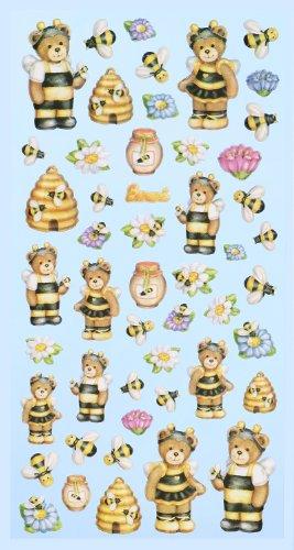 Creapop Sticker Softysticker * Lustige Bienen - Honig * Aufkleber 3451155