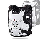 Brustpanzer Motocross,Riding Body Protector, stoßfester Brustschutz für Moto Cross Scooter MTB...