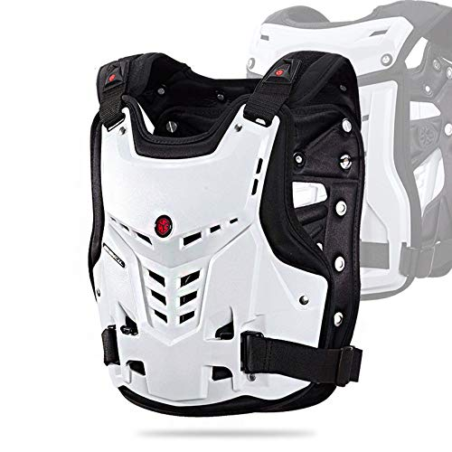 SXFYMWY Protector de Cuerpo de Montar, Protector de Espalda de Pecho a Prueba de Golpes para Moto Cross Scooter MTB Enduro Patinaje Skate Snowboard Hombre o Mujer, Protector de Columna Vertebr