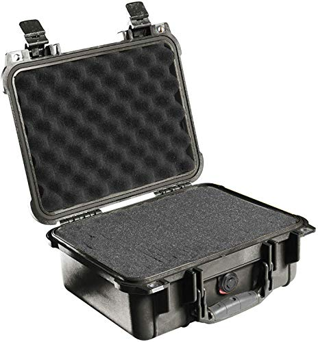 Pelican 1400 Case With Foam Black