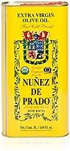 1 Lata de 5 l - Nuñez de Prado - Aceite de oliva virgen extra en rama ecológico por Oliva Oliva Internet S.L.