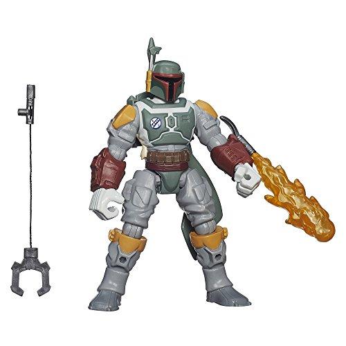 Star Wars – Hero Mashers – Deluxe Boba Fett Figur [UK Import]