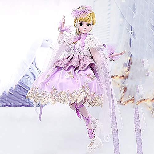ZNDDB Reborn Baby Puppe,Dressup Puppe Geschenkset, 60cm 3 Jahre alt Kinderspielzeug