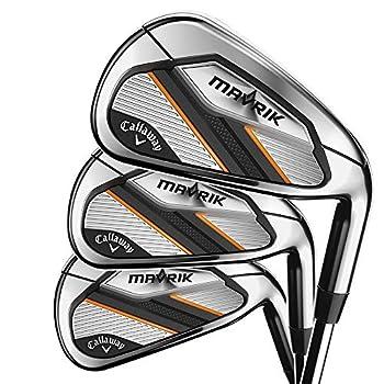 Callaway Golf 2020 Mavrik Iron Set  Right Hand Steel Regular 5 Iron - PW AW