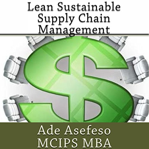 Lean Sustainable Supply Chain Management audiobook cover art