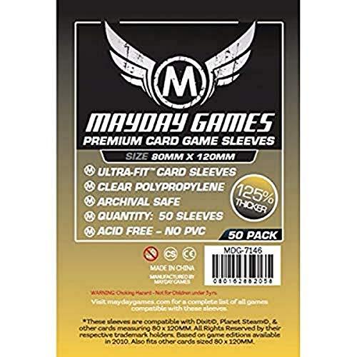 50 Mayday 80 x 120 Dixit Premium Card Sleeves Board Game - Brettspiel Hüllen
