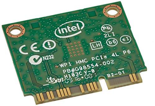 Intel 3160.HMWWB.R - Tarjeta de Red, Dual Band Wireless-AC 3160, PCI Express, Half Mini Card 802.11 b/a/g/n/AC