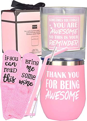 Thank You Gifts, Thanks for Being Awesome, Thank You Gifts for Women, Your Awesome Gifts,Appreciation Gifts,Sometimes You Forget You're Awesome So This Is Your Reminder, Inspirational Gifts for Women