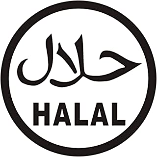 Pokewin 2pcs Halal Shop Vinyl Sticker Decal Sign Fast Food Restaurant Gift Motorcycle