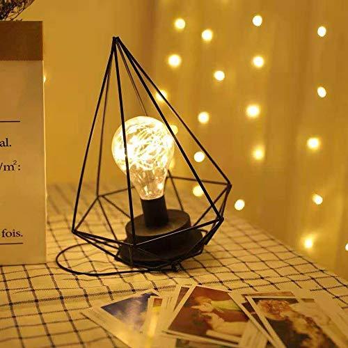 MJZHJD Lámpara de Mesa decoración de la lámpara Dormitorio de Noche de la decoración Luz Lámpara de Mesa Rosa 20cm * 38cm Luz de Pared