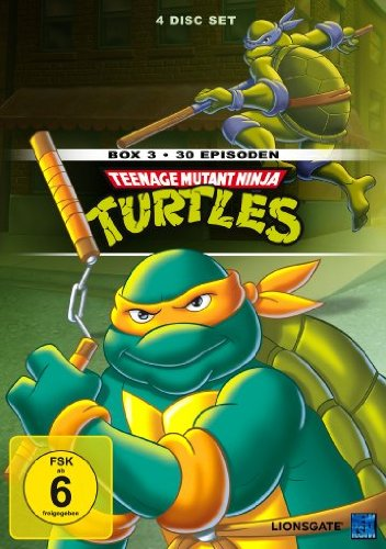 Teenage Mutant Ninja Turtles - Box 3 (30 Episoden) [4 DVDs]