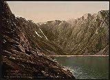 Photo Opstigningen til Nordkap II Hornviken A4 10x8 Poster