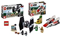 Star Wars Lego 75237 TIE Fighter Attack + Lego 75247 Rebel A-Wing Starfighter