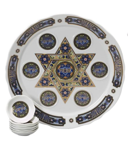 Israel Giftware International Porzellan Seder Teller