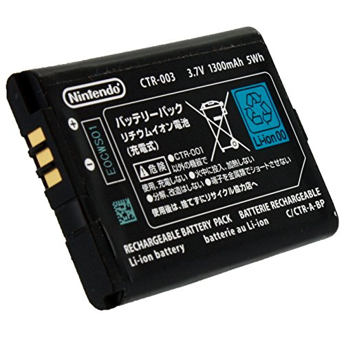 OFFICIAL OEM Nintendo 3DS CTR-003 Rechargeable Battery (Not compatiable with 3DS XL)