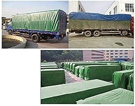 JYDQM Tarps, Outdoor Dikke Waterdichte Zonnebrandcrème PVC Geteerd zeildoek Truck Tent Regendoek Dekzeil Blauw, 4 * 10M