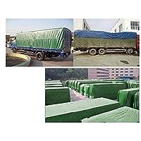 MUMUMI Tarps、屋外厚い防水日焼け止め紙の防水シートのトラックテント雨の布の防水シート,青,2 * 3M