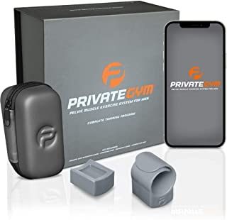 Private Gym Kegel and Pelvic Exercise System for Men | Drastically Improve Pelvic Health Without Meds or Side Effects | Di...