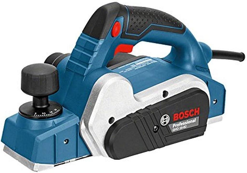 Bosch professional 06015a4000 bosch gho 16-82 professional piallatrice 630 w 18000 giri/min nero, blu, argento