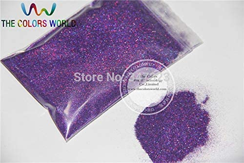 Gabcus New product type Laser Purple Bombing new work Color 0.1MM specular Fine Glitter dust 004