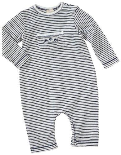 Lana Naturalwear Combinaison Col Ras du Cou Manches 3/4 Mixte bébé