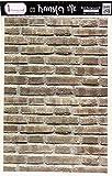 Dress My Craft Transfer Me Sheet 12.5'X18.5'-Brick Background #1