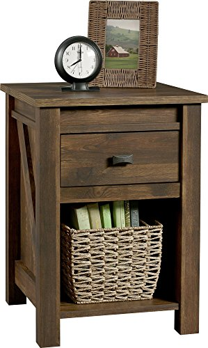 Ameriwood Home Farmington Night Stand, Rustic ,Small, Century Barn Pine -